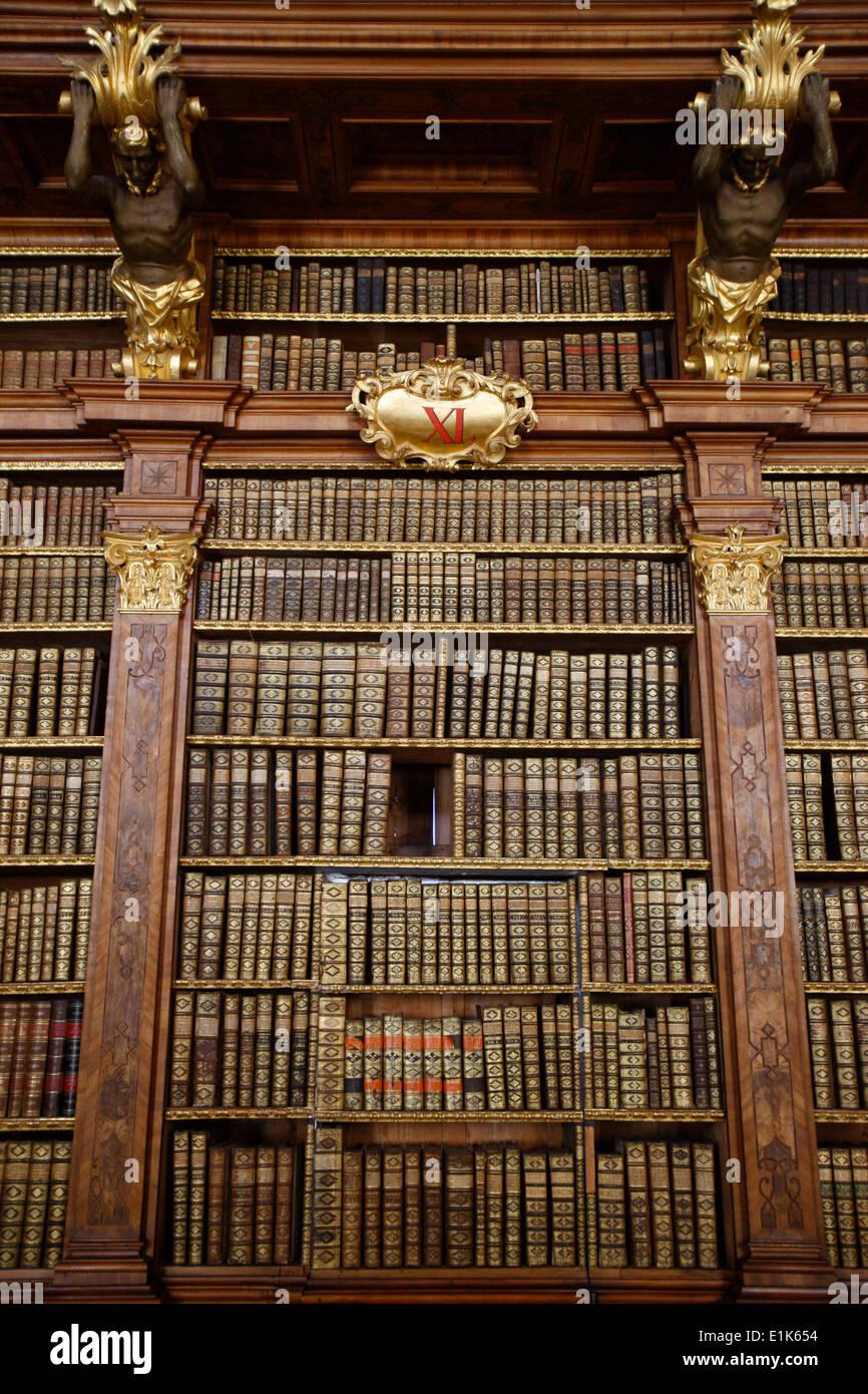 Melk Abbey Library Stock Photos  Melk Abbey Library Stock-5770