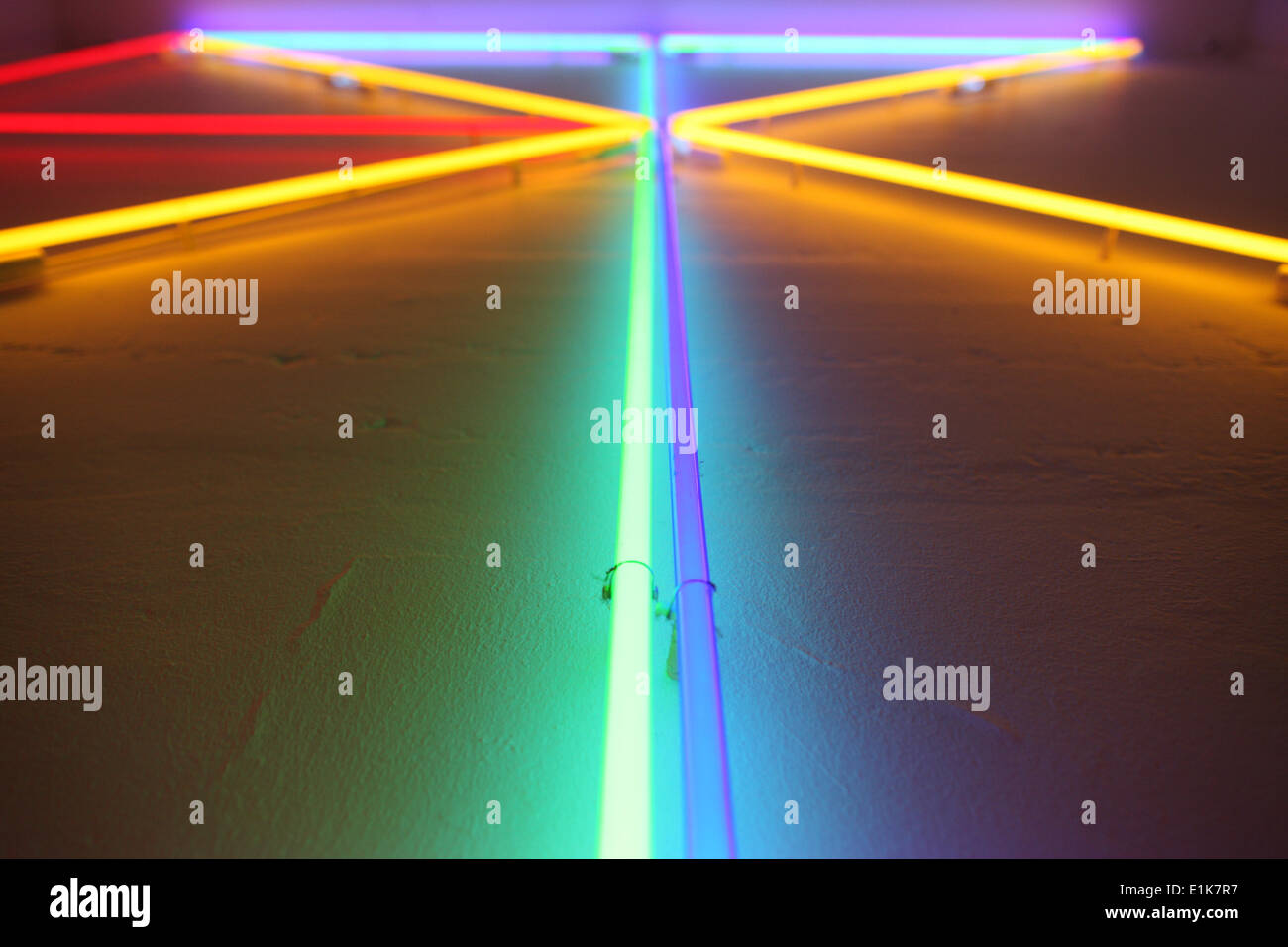 Neon lights - Stock Image