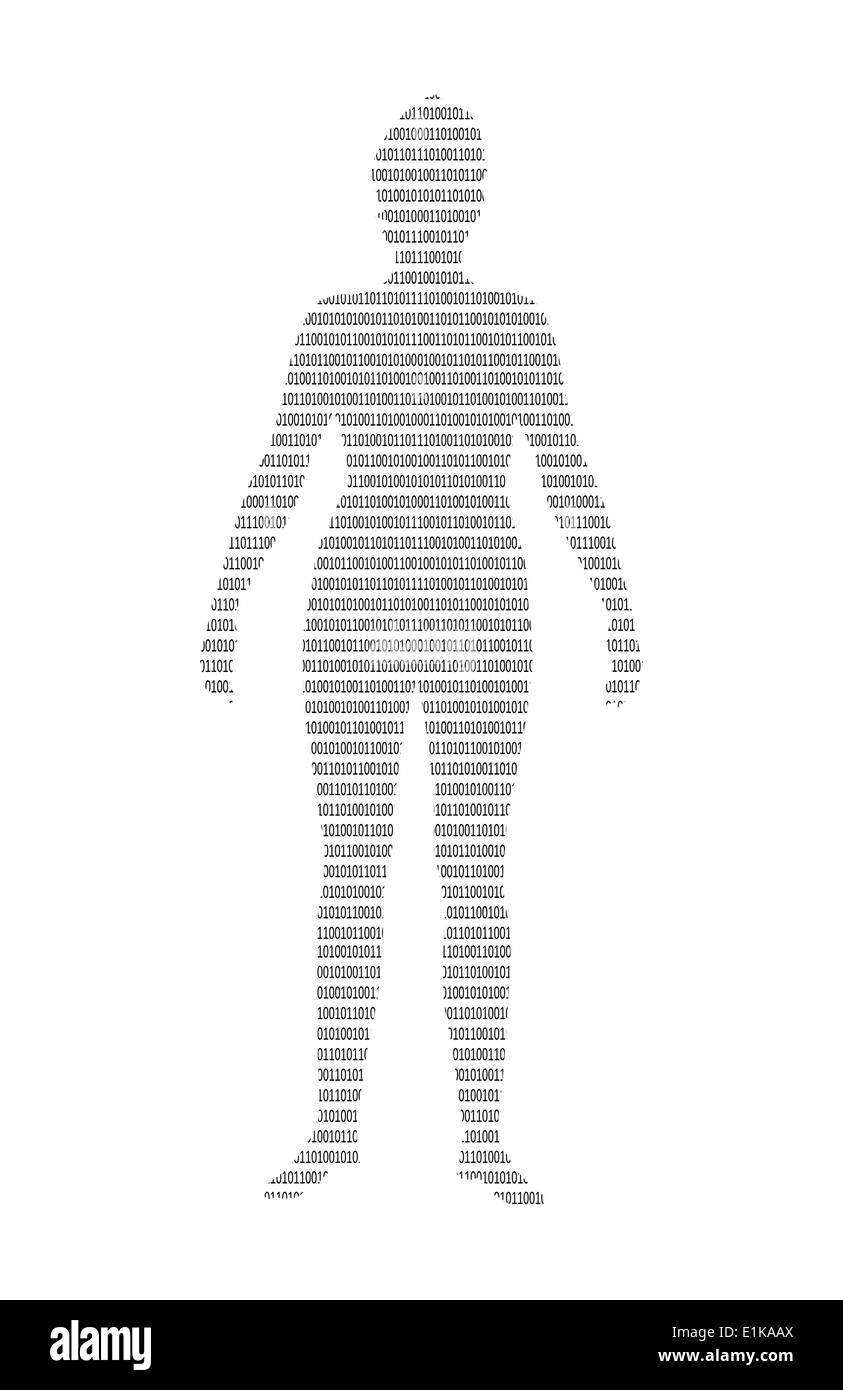 Binary Digit Stock Photos Images Alamy Or Photo Of Circuit Board Skinned Human Close Up And Code Computer Artwork A With Image