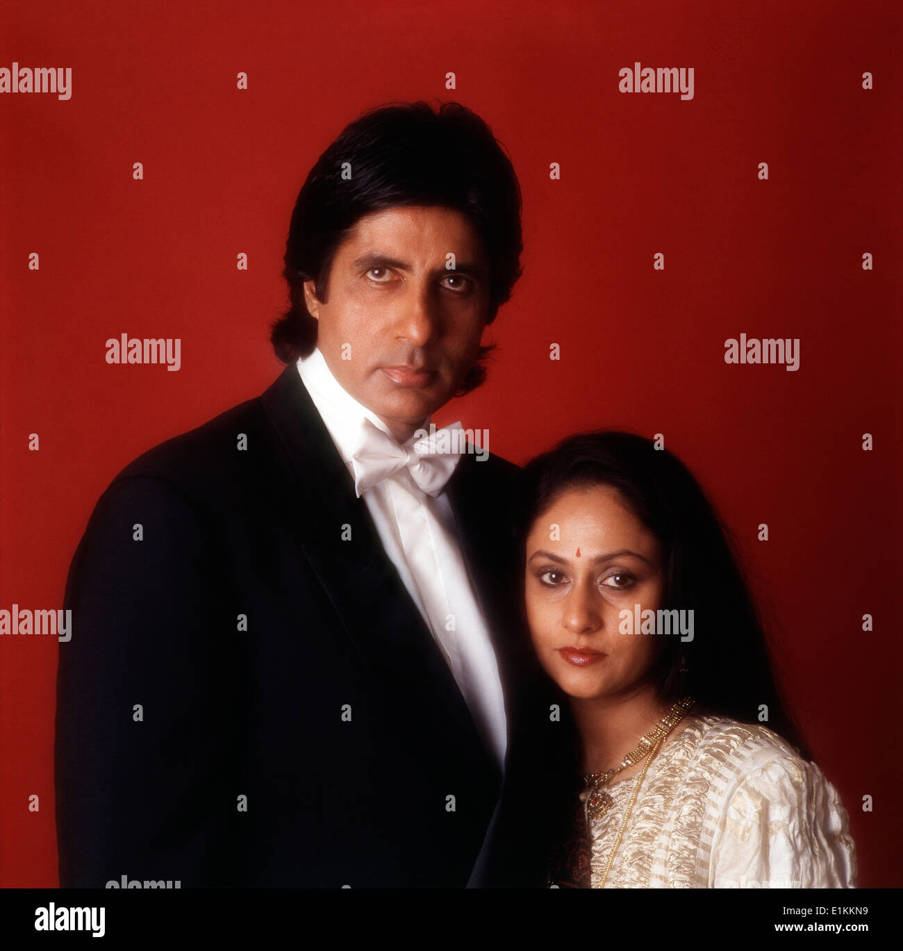 Indian Film Actor Amitabh Bachchan And Wife Jaya Bachchan