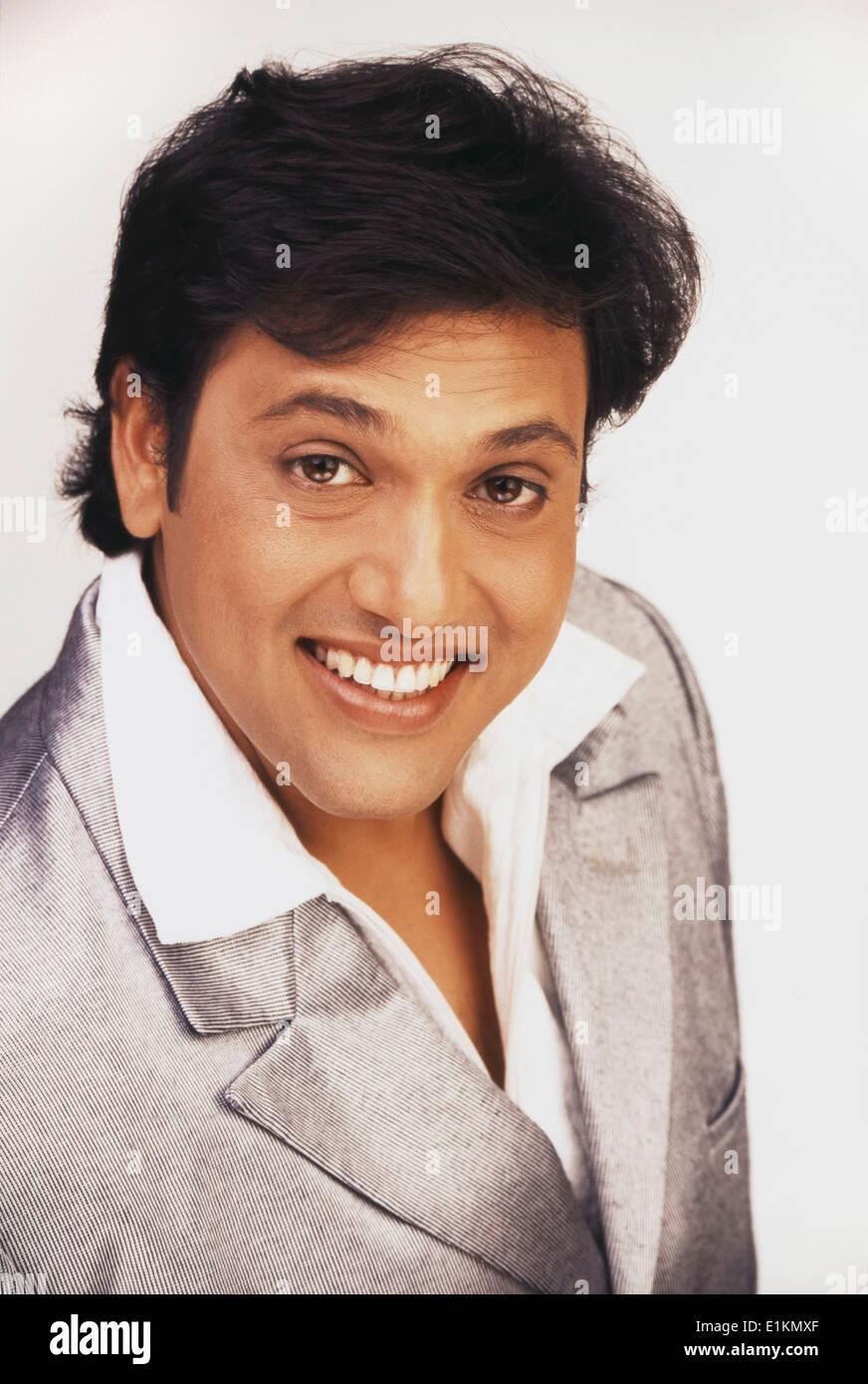 Portrait Of Govinda Indian Film Actor Stock Photo 69889639 Alamy