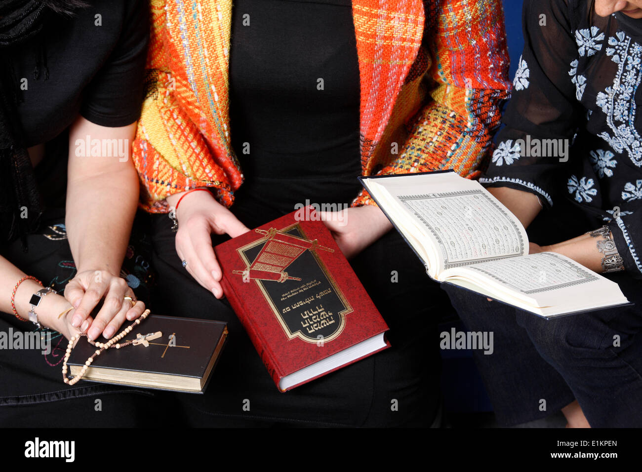 Inter-religious meeting - Stock Image