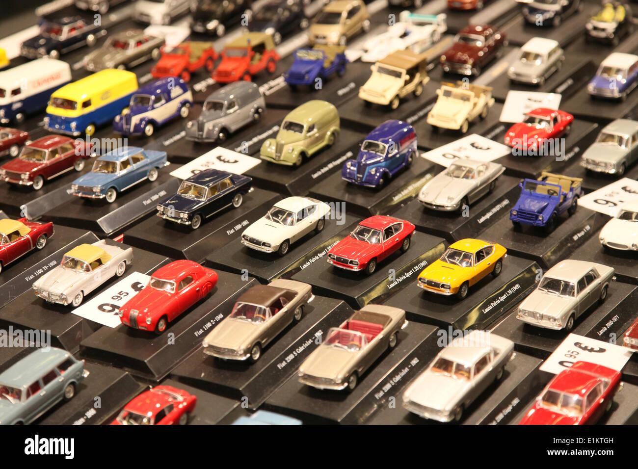 Vintage car show - miniature cars Stock Photo: 69892497 - Alamy