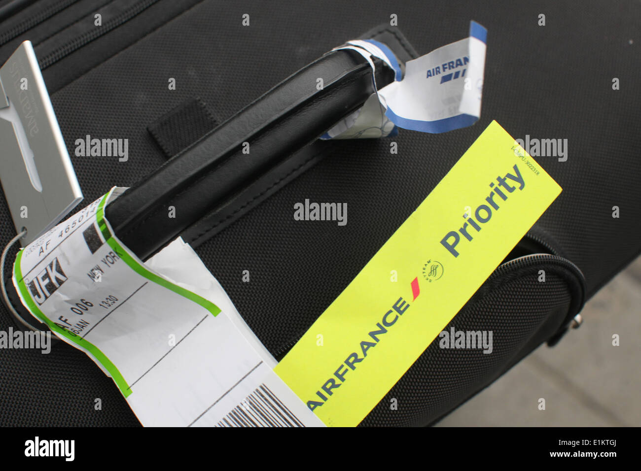 Luggage tags - Stock Image