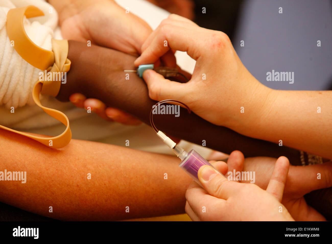 Blood test - Stock Image
