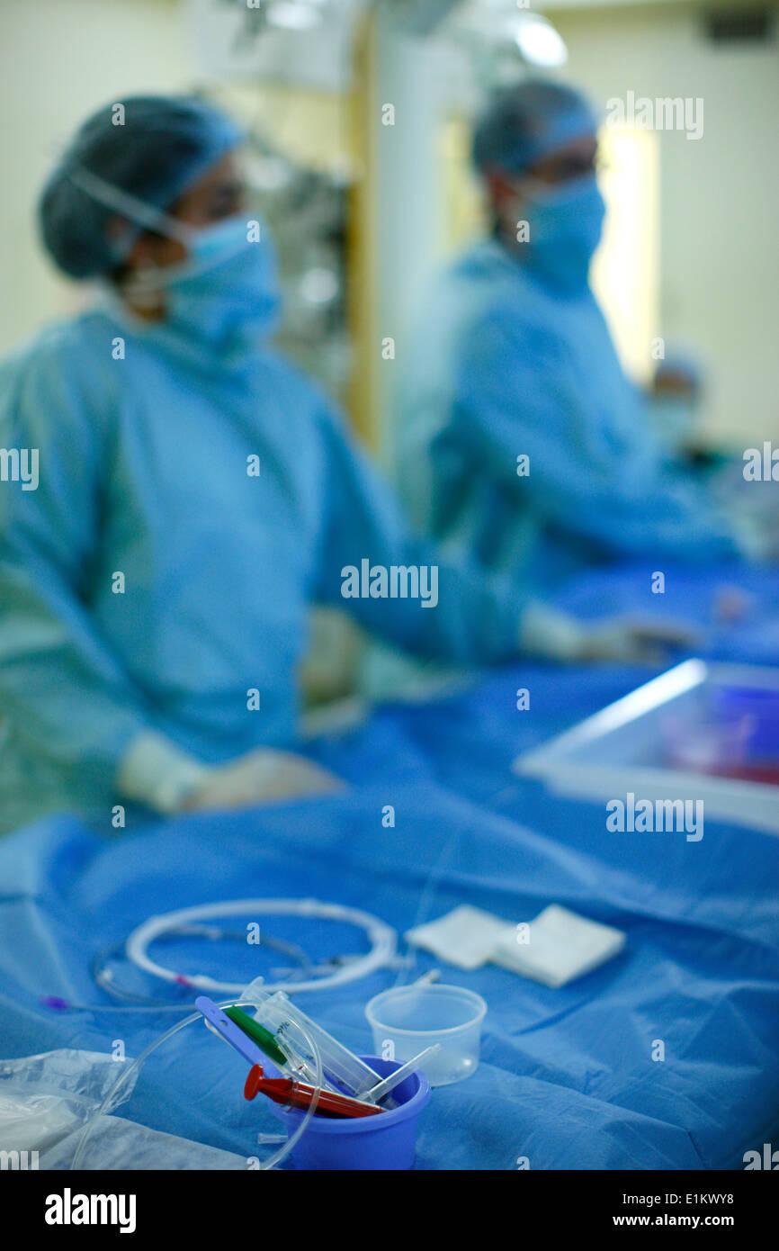 Cardiac surgery - Stock Image