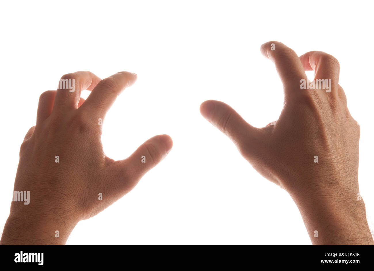 male hands grab gesture stock photo 69893735 alamy