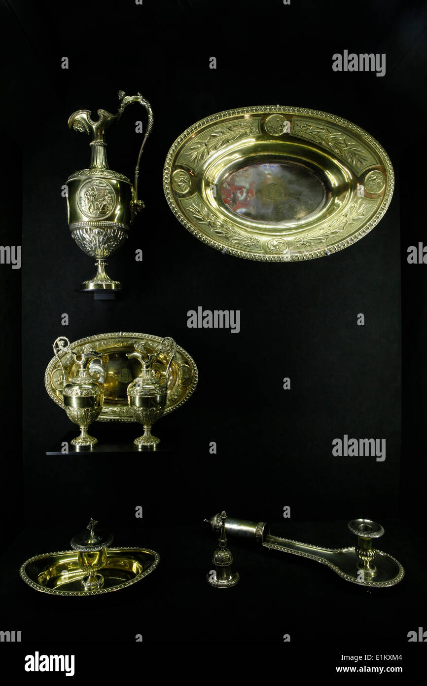 Notre-Dame de Paris cathedral Treasure Museum. - Stock Image