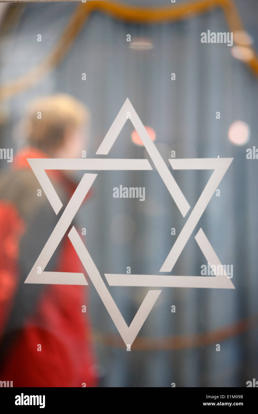 Star of David - Stock Image
