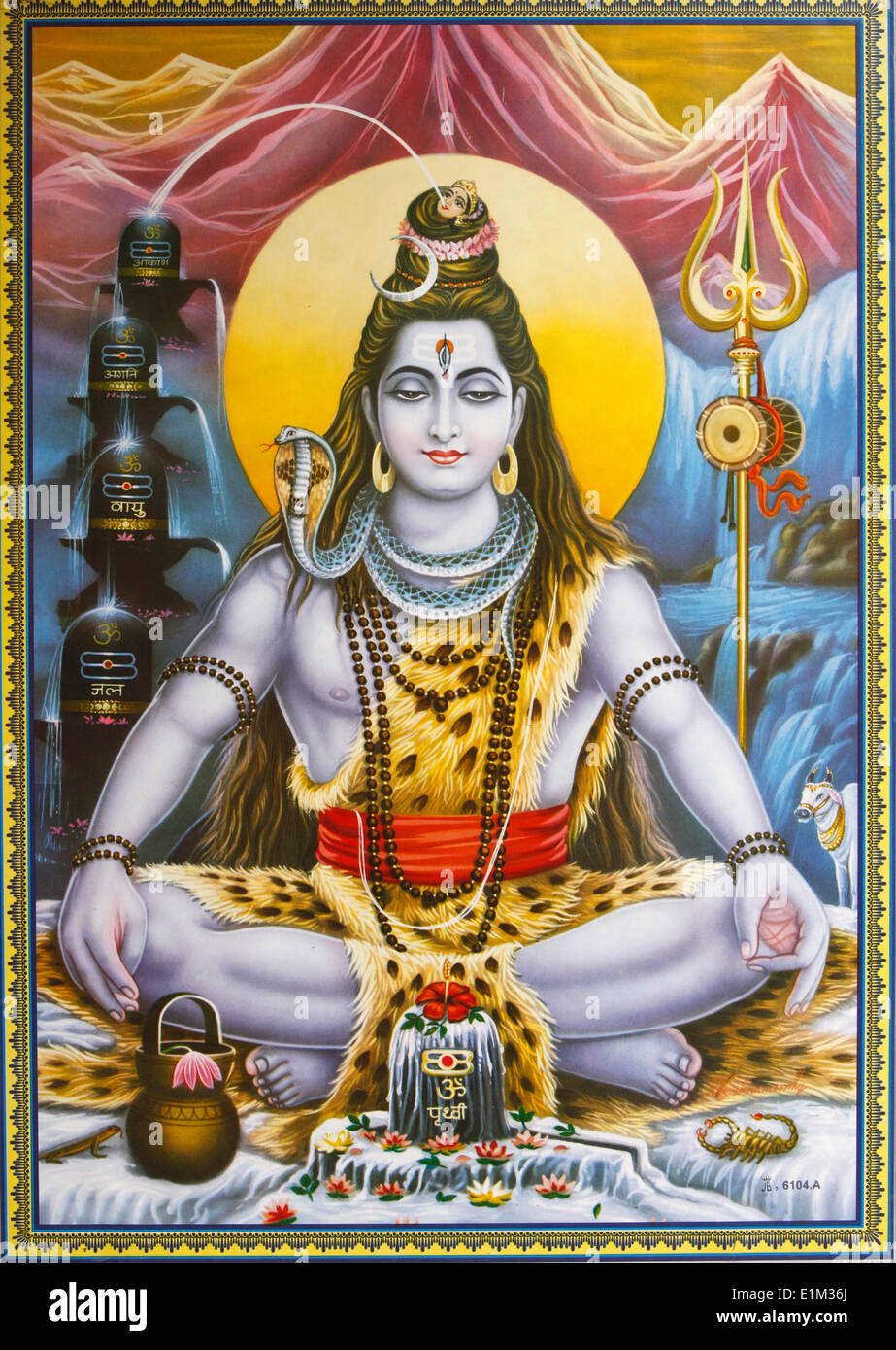 Sitting Shiva picture - Stock Image