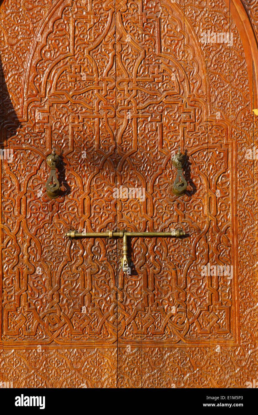 Muhammad V Mosque door - Stock Image