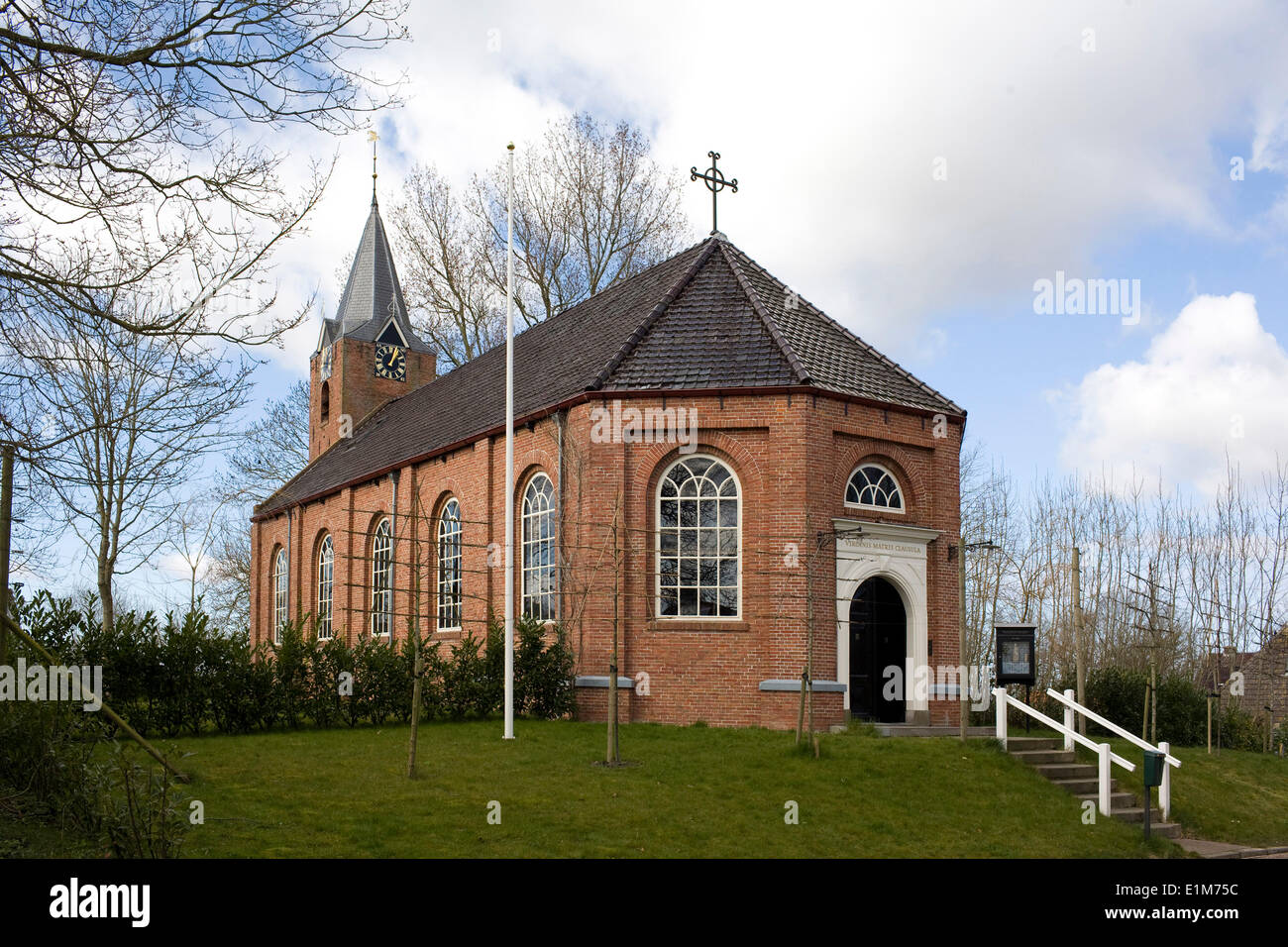 The Hermitage of Our Lady, the Garden Enclosed, situated in the former parish-church of Warfhuizen - Stock Image
