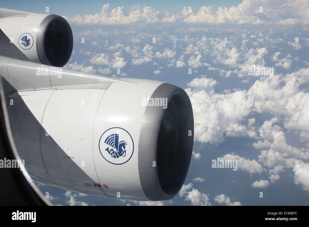 Air France 747 boeing - Stock Image