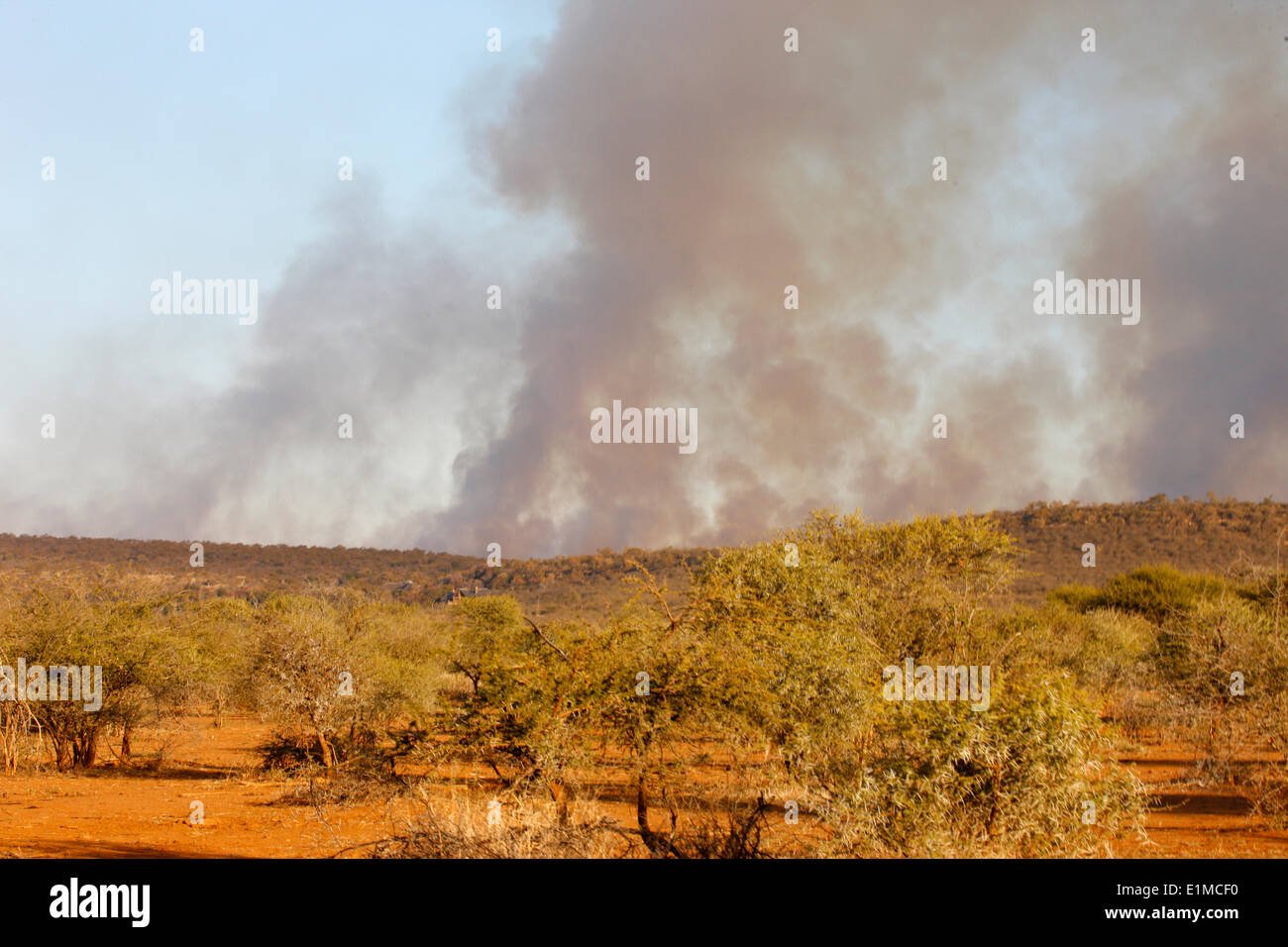 Africa African Landscape Game Smoke Outdoors Nobody Fire