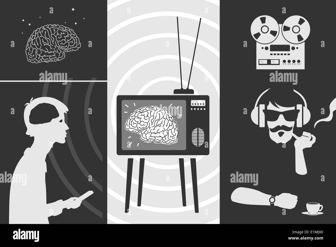 Set propaganda - Stock Image