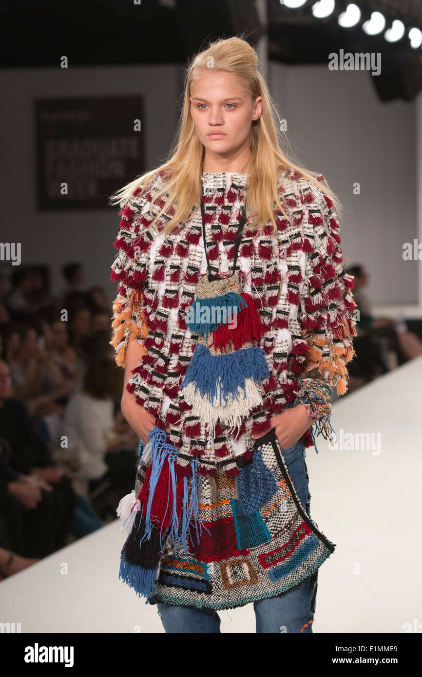Runway Show With Student Collections From Uel University Of East Stock Photo Alamy
