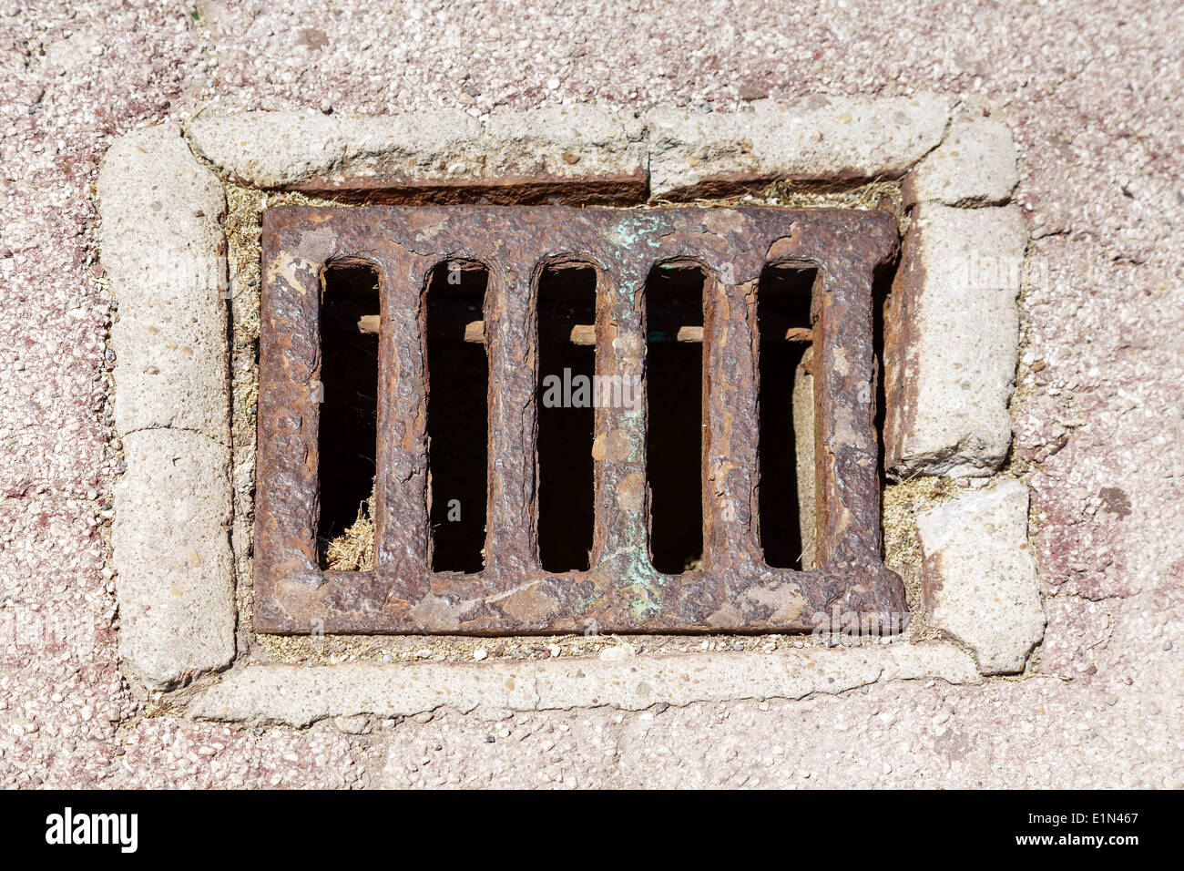 Sewer cover - Stock Image