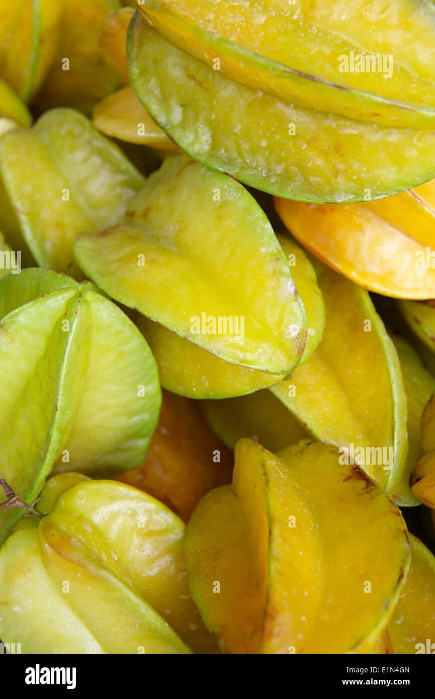 A Fruta Carambola Serve Para Que fresh yellow carambola star fruit on display at brazilian
