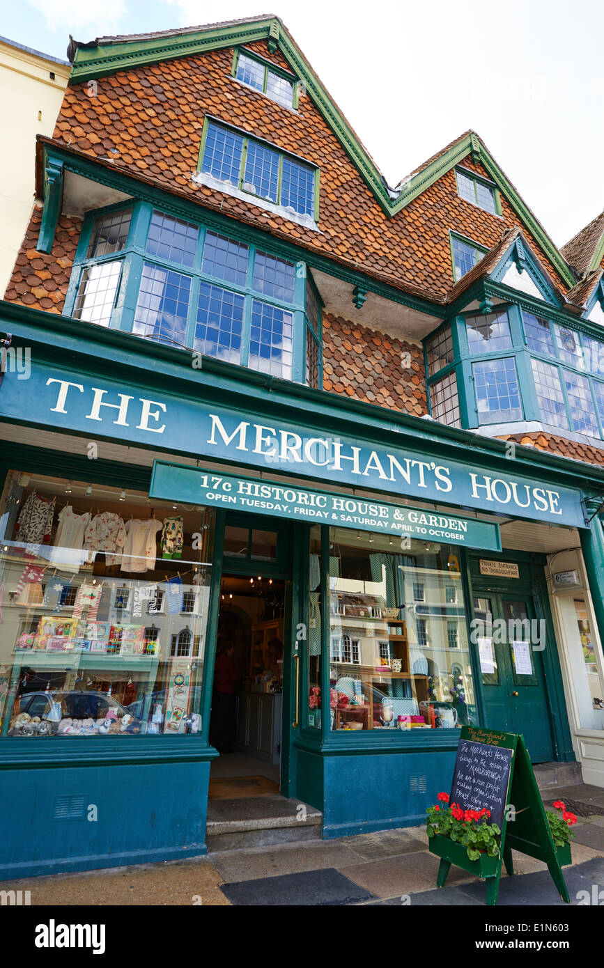 The Merchants House High Street Marlborough Wiltshire UK - Stock Image