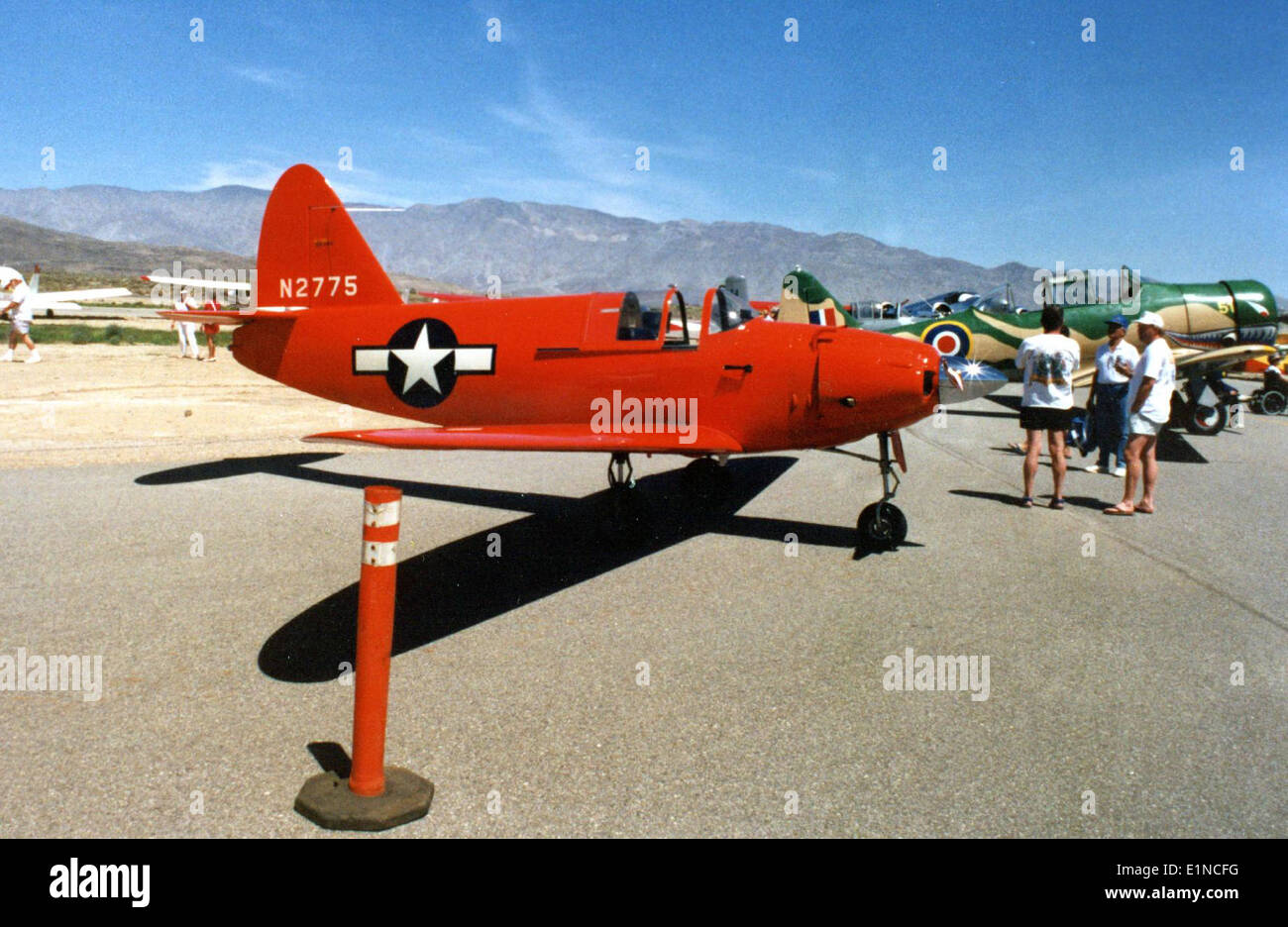 Culver PQ-14 Borrego Springs Air Show, Ca, 6 April 1991 - Stock Image