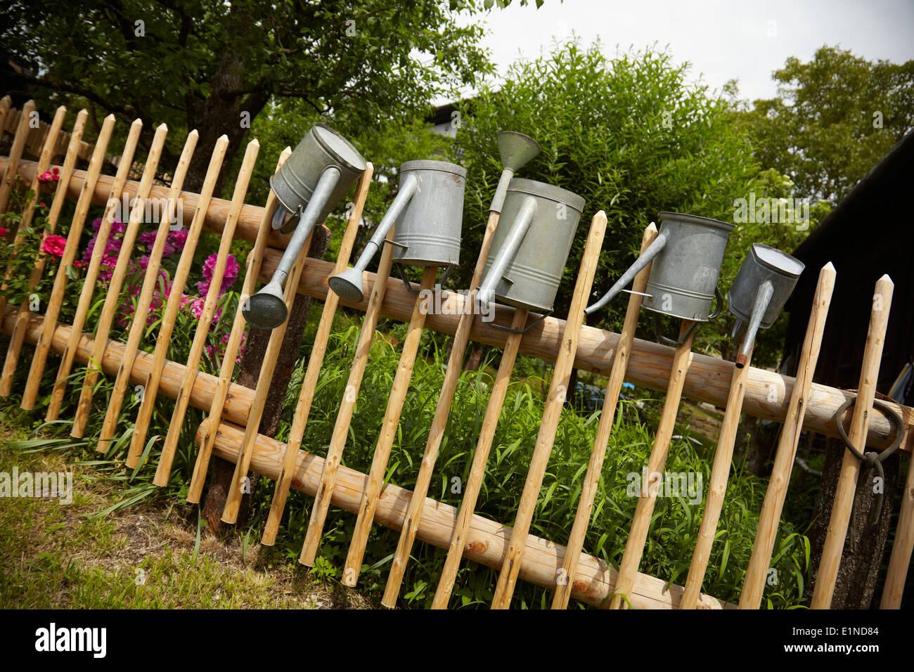 Garden Fence Stock Photos & Garden Fence Stock Images - Alamy