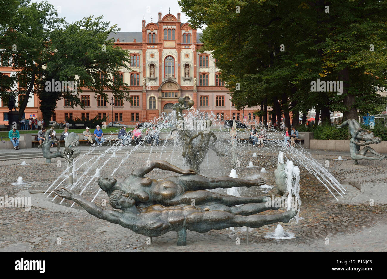 Brunnen Der Lebensfreude Stock Photos & Brunnen Der ...