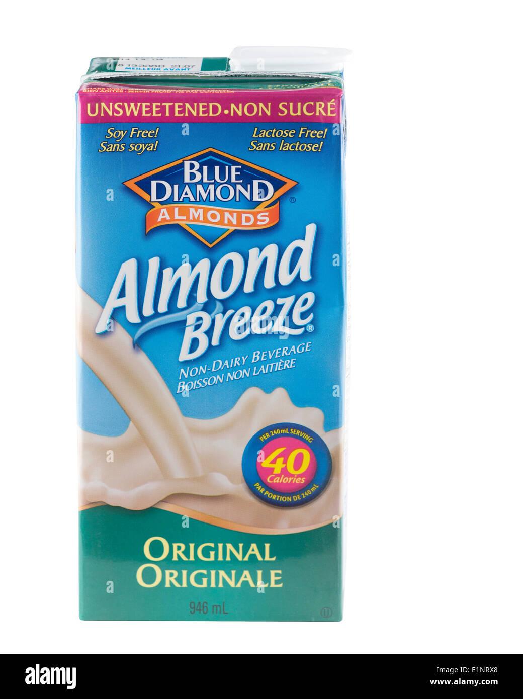 Almond milk - Stock Image