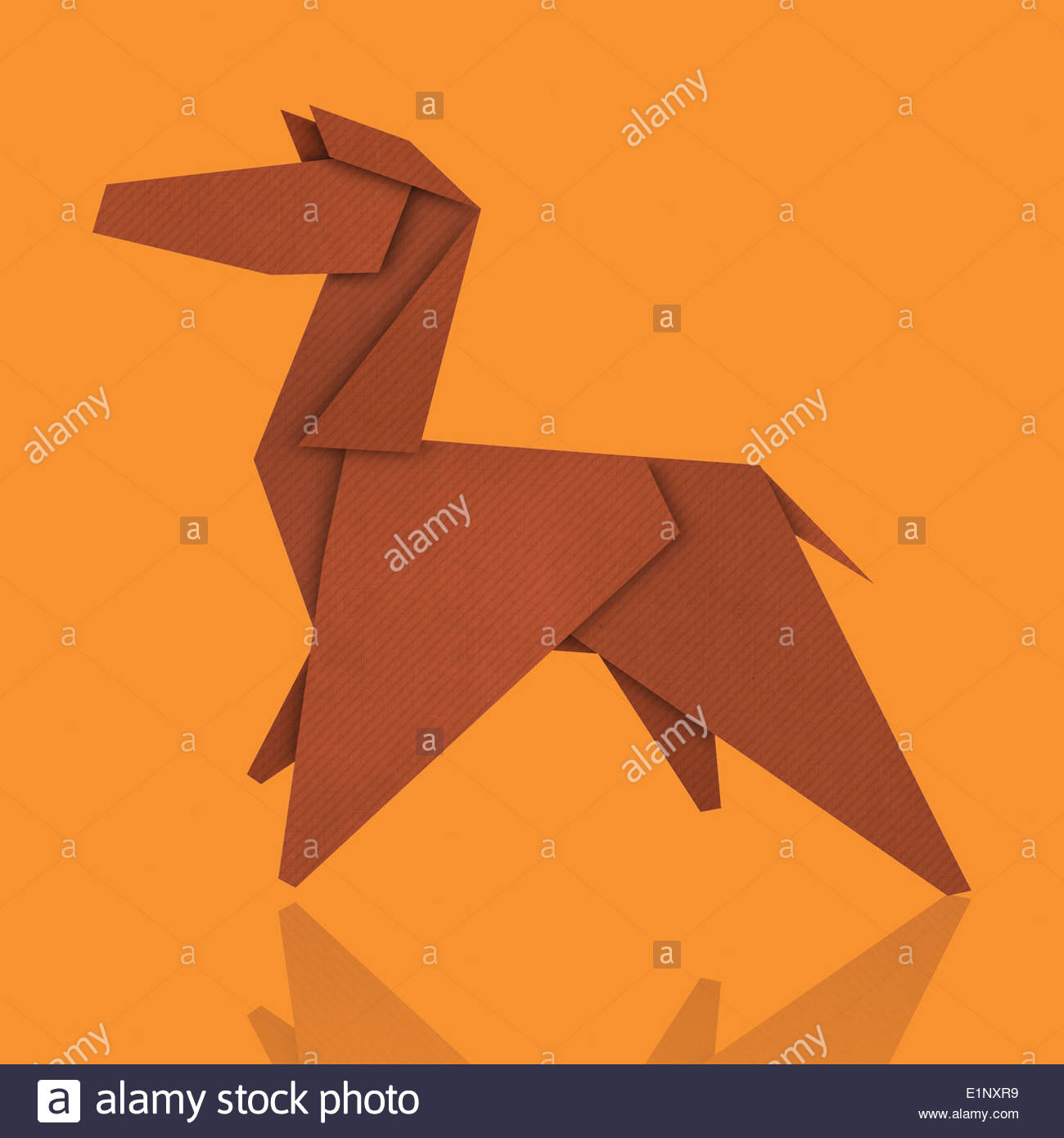 Horse Origami Stock Photos Horse Origami Stock Images Alamy