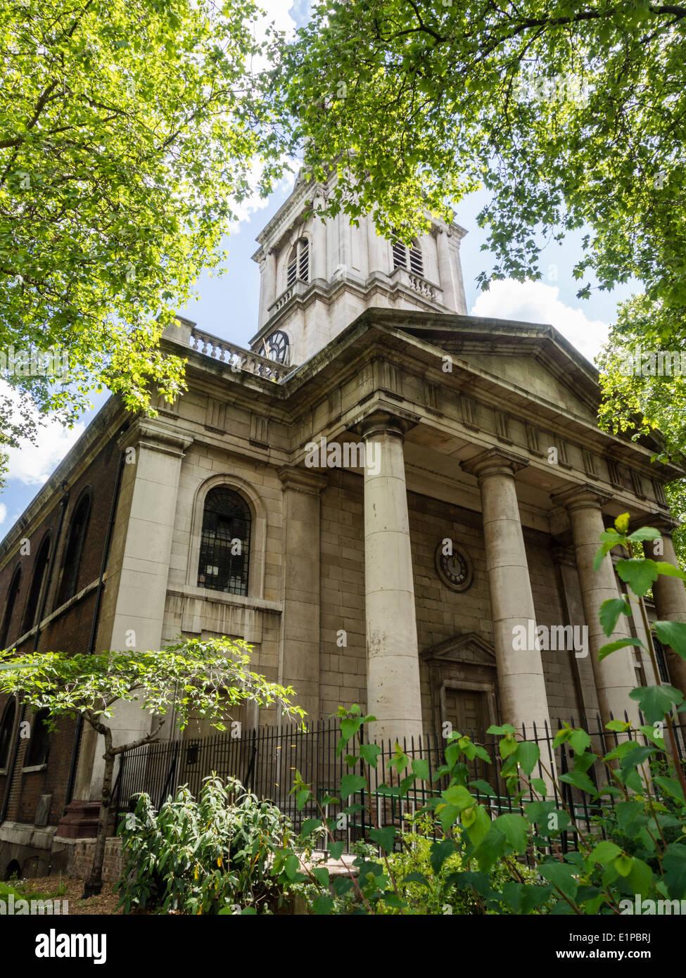 Shoreditch Church: St Leonards Shoreditch Stock Photos & St Leonards