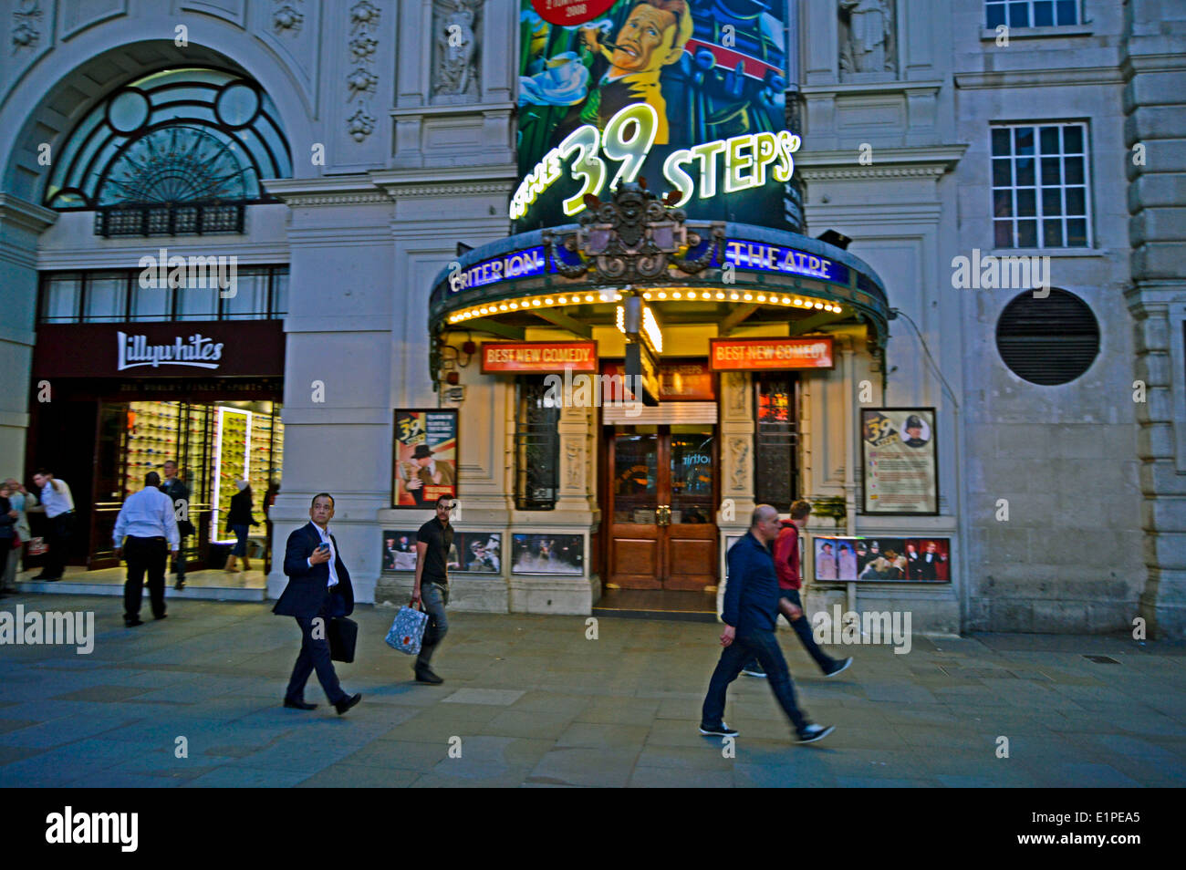 The Criterion Theatre, West End, City of Westminster, London, England, United Kingdom - Stock Image
