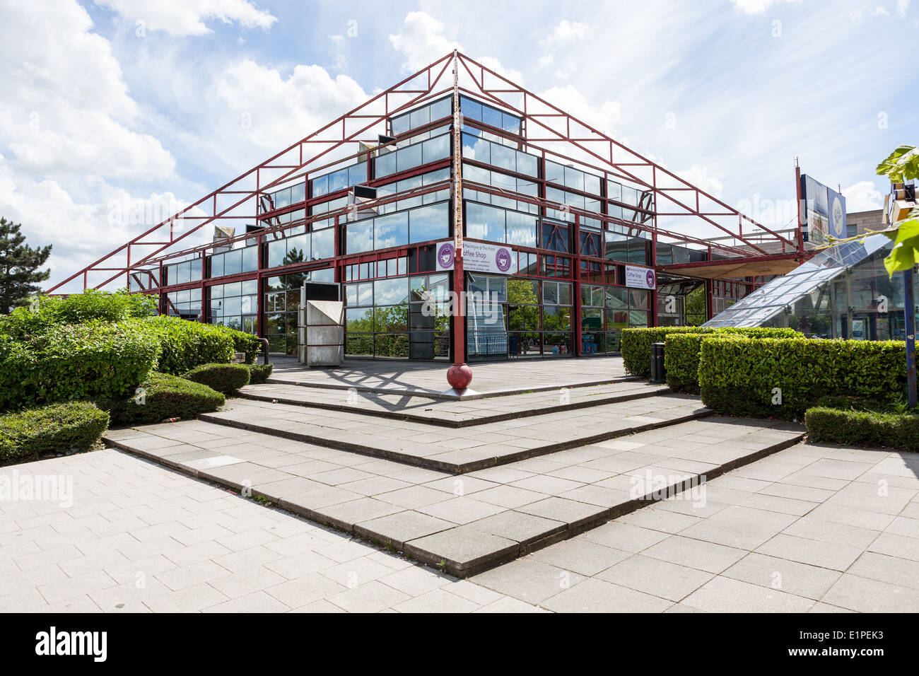 The Point, in Milton Keynes, was Britain's first multiplex cinema. - Stock Image
