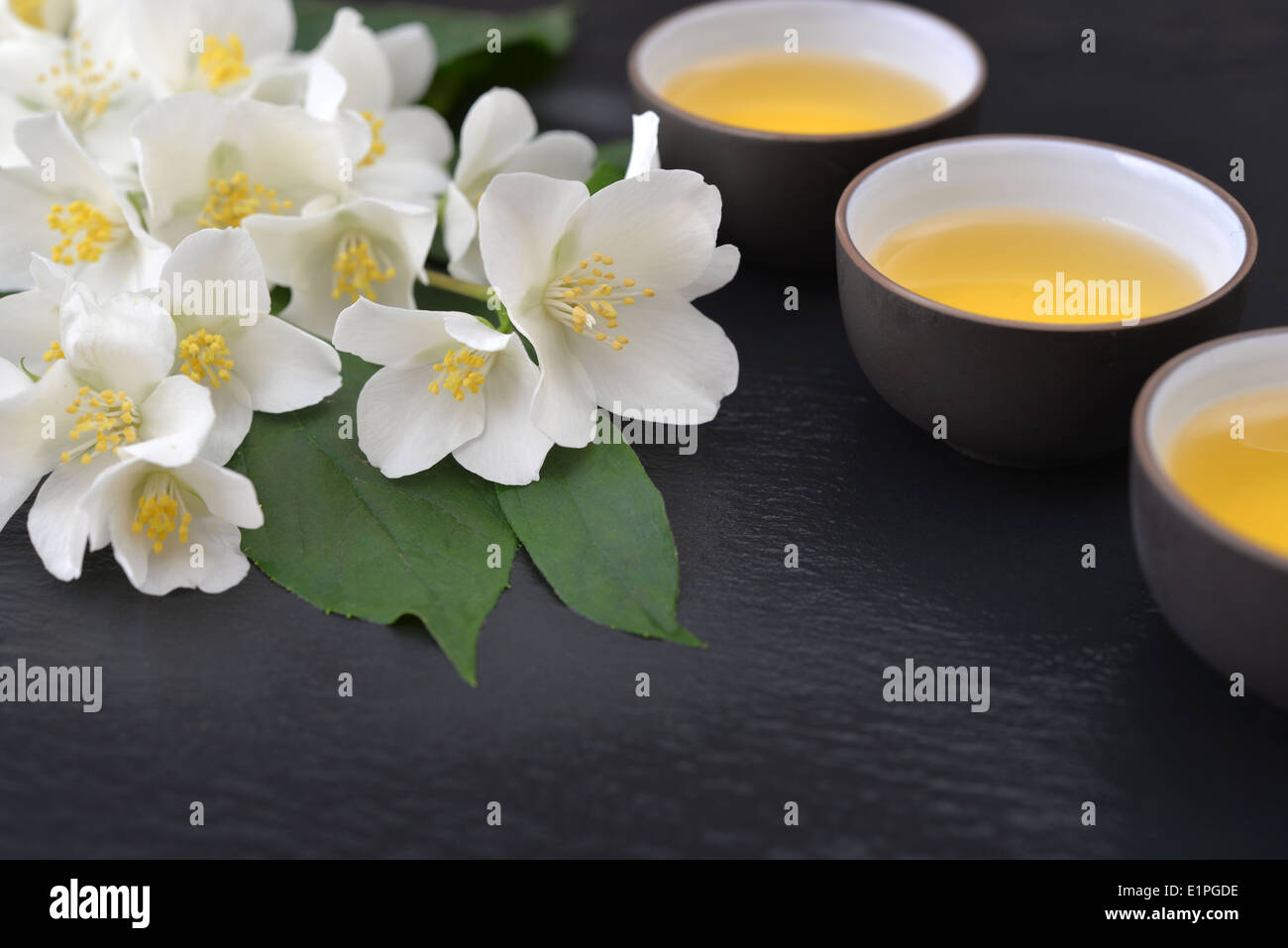 Chinese Jasmine Hot Tea In Stock Photos Chinese Jasmine Hot Tea In