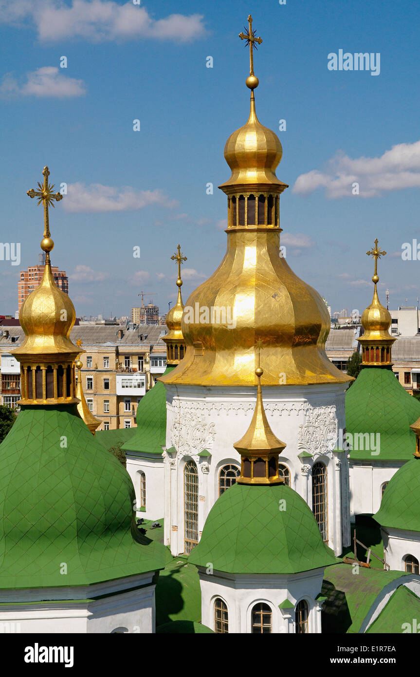 Ukraine, Kiev, St Sophia's Cathedral. Unesco world heritage - Stock Image
