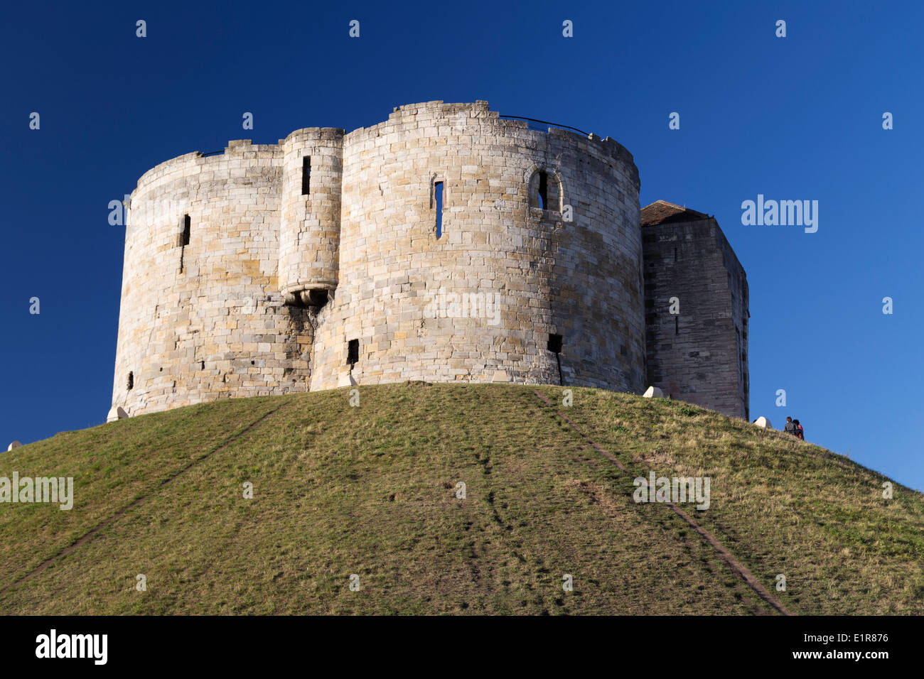 UK, York, Cliffords Tower. - Stock Image