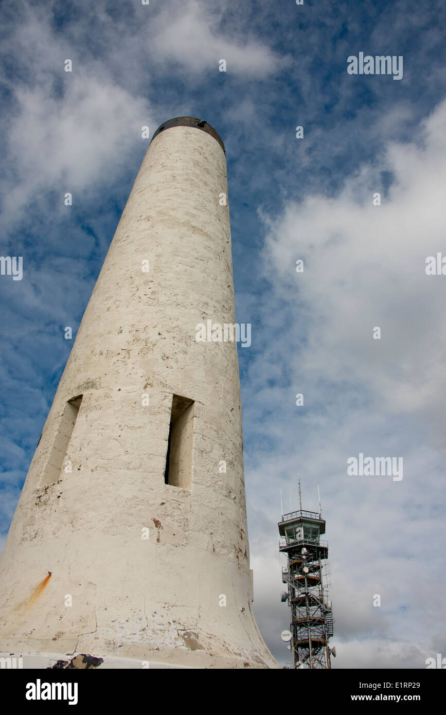 Australia, South Australia, Adelaide. Mount Lofty summit, historic Obelisk aka Flinders Column with Mount Lofty. - Stock Image