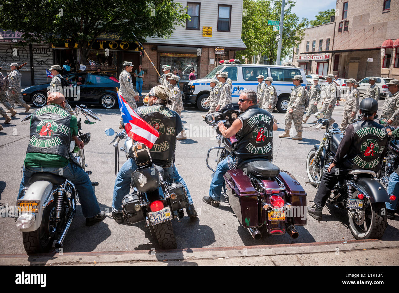 The Dirty Ones Motorcycle Club In The Brooklyn Puerto