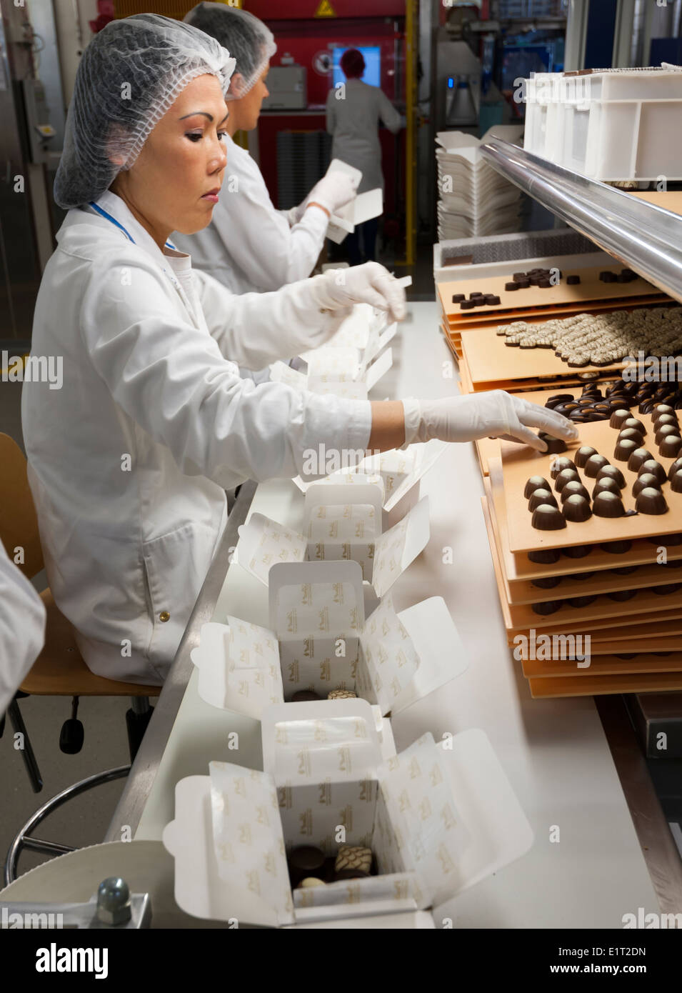Lindt Chocolate Factory Tour Usa