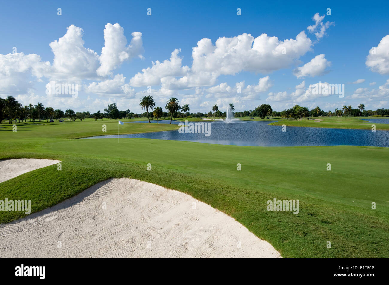 Doral, Blue Monster golf course, Miami, Florida, USA - Stock Image