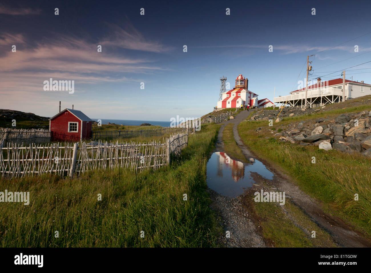Cape Bonavista Lighthouse Provincial Historic Site of Newfoundland and Labrador, Canada - Stock Image