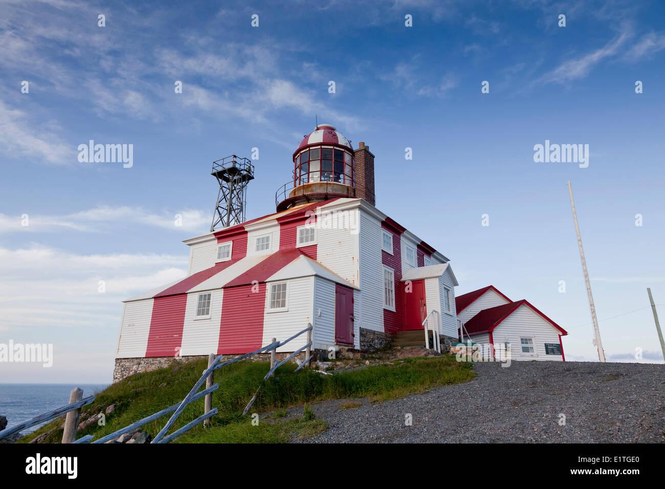 Cape Bonavista Lighthouse Provincial Historic Site of Newfoundland and Labrador, NL, Canada - Stock Image