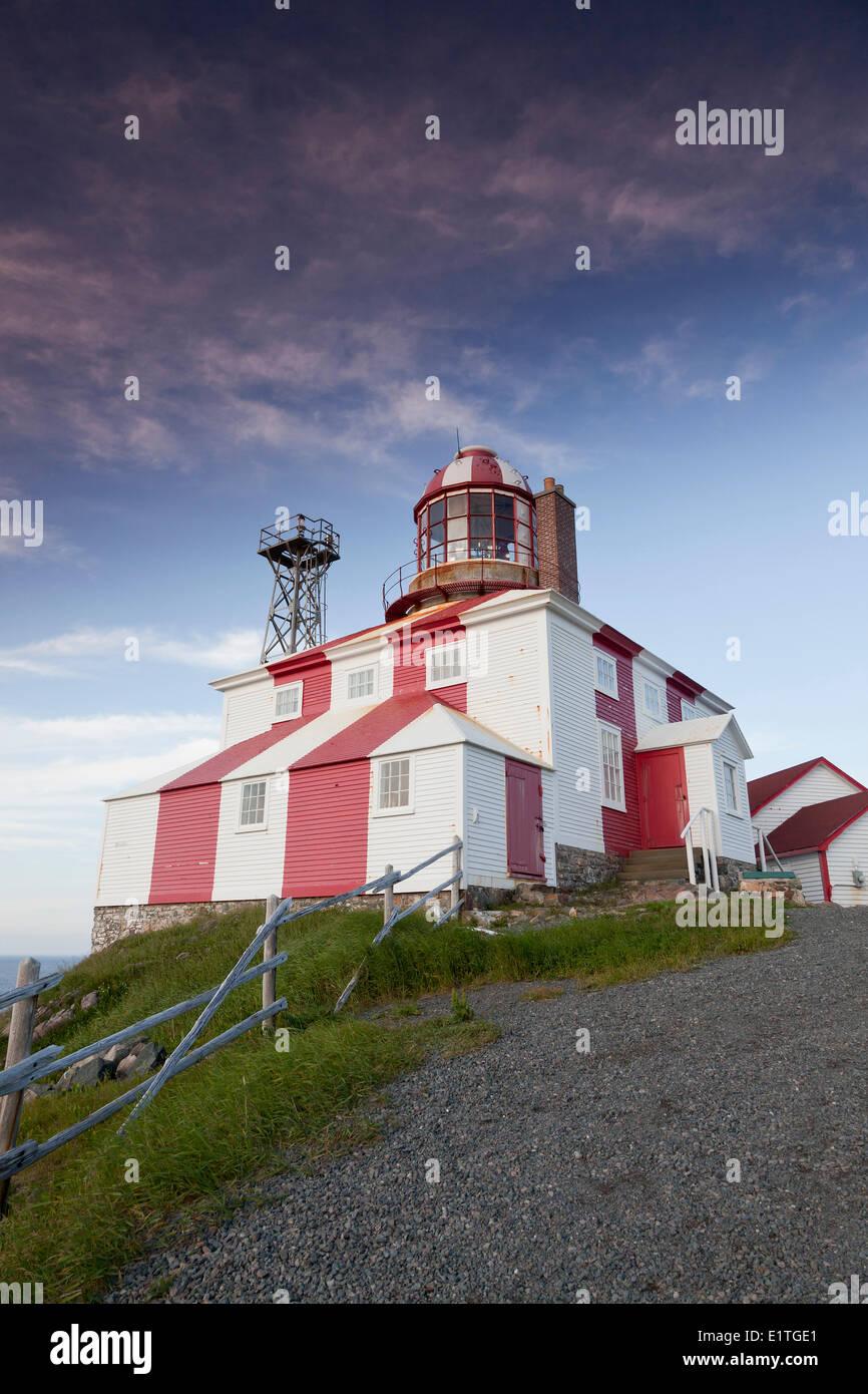 Cape Bonavista Lighthouse Provincial Historic Site of Newfoundland and Labrador, NL - Stock Image