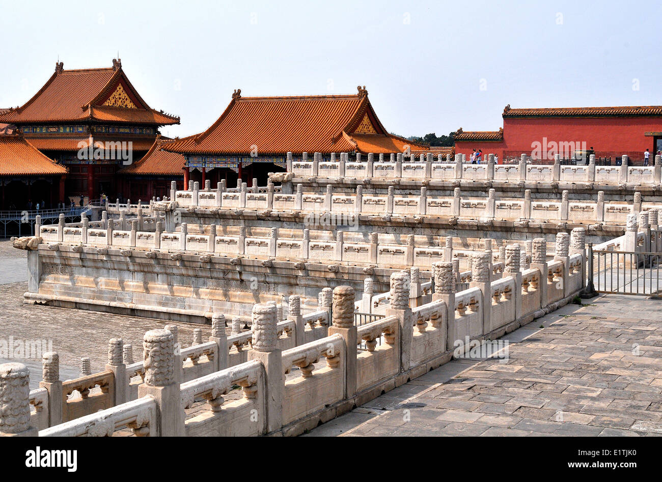 The Forbidden city Beijing China - Stock Image