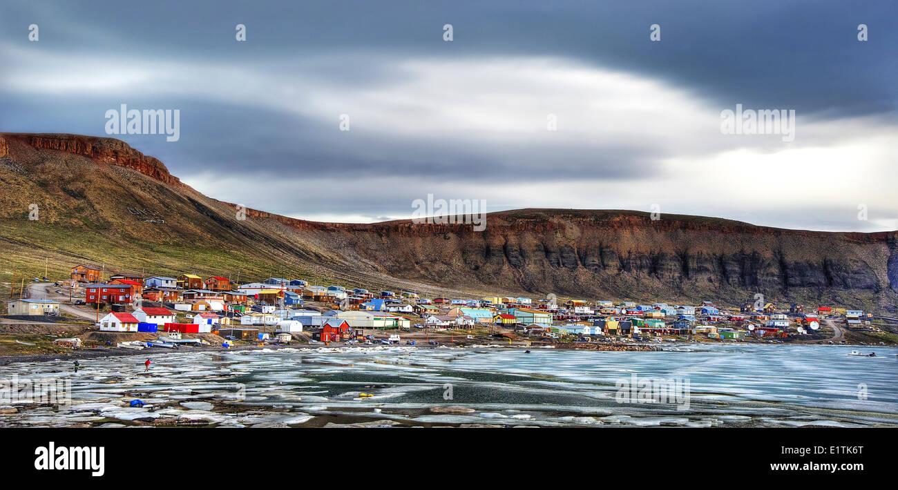 Ikpiarjuk, Nunavut, Canada,  Borden Peninsula on Baffin Island, Qikiqtaaluk Region - Stock Image
