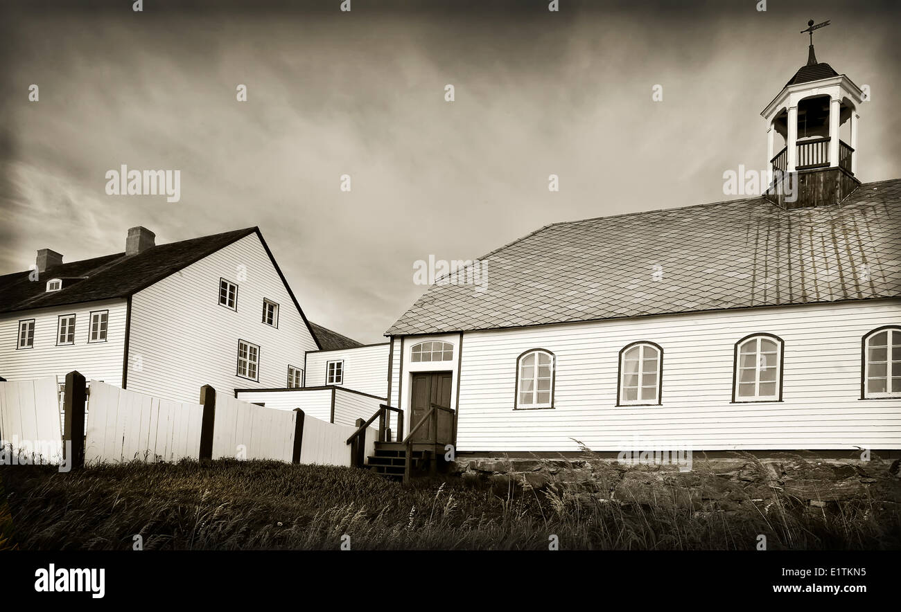 Community church, Nain, Newfound and Labrador, Canada - Stock Image