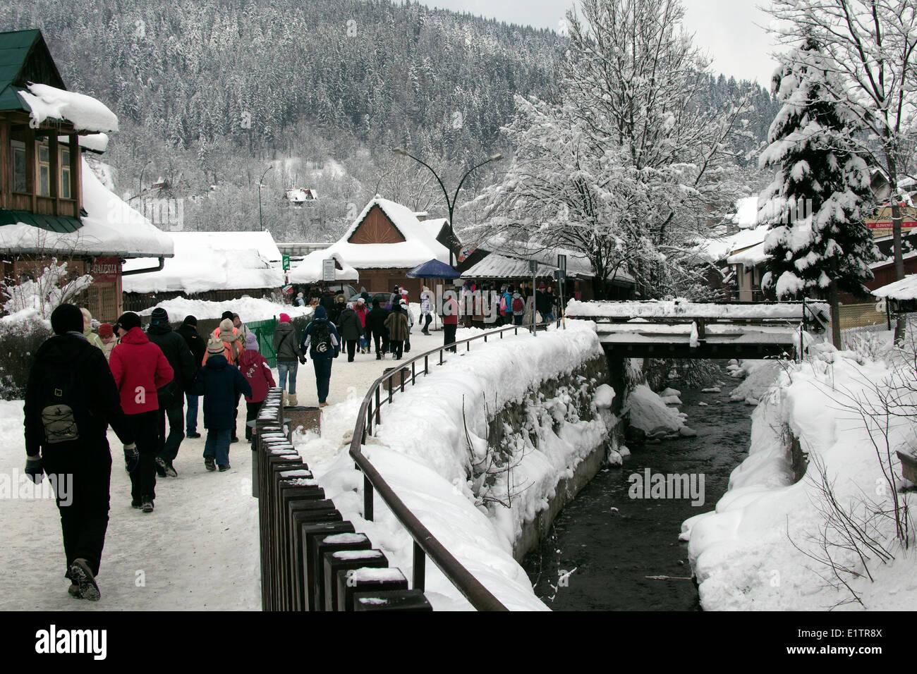 Europe, Poland, Malopolska province, Zakopane city, - Stock Image
