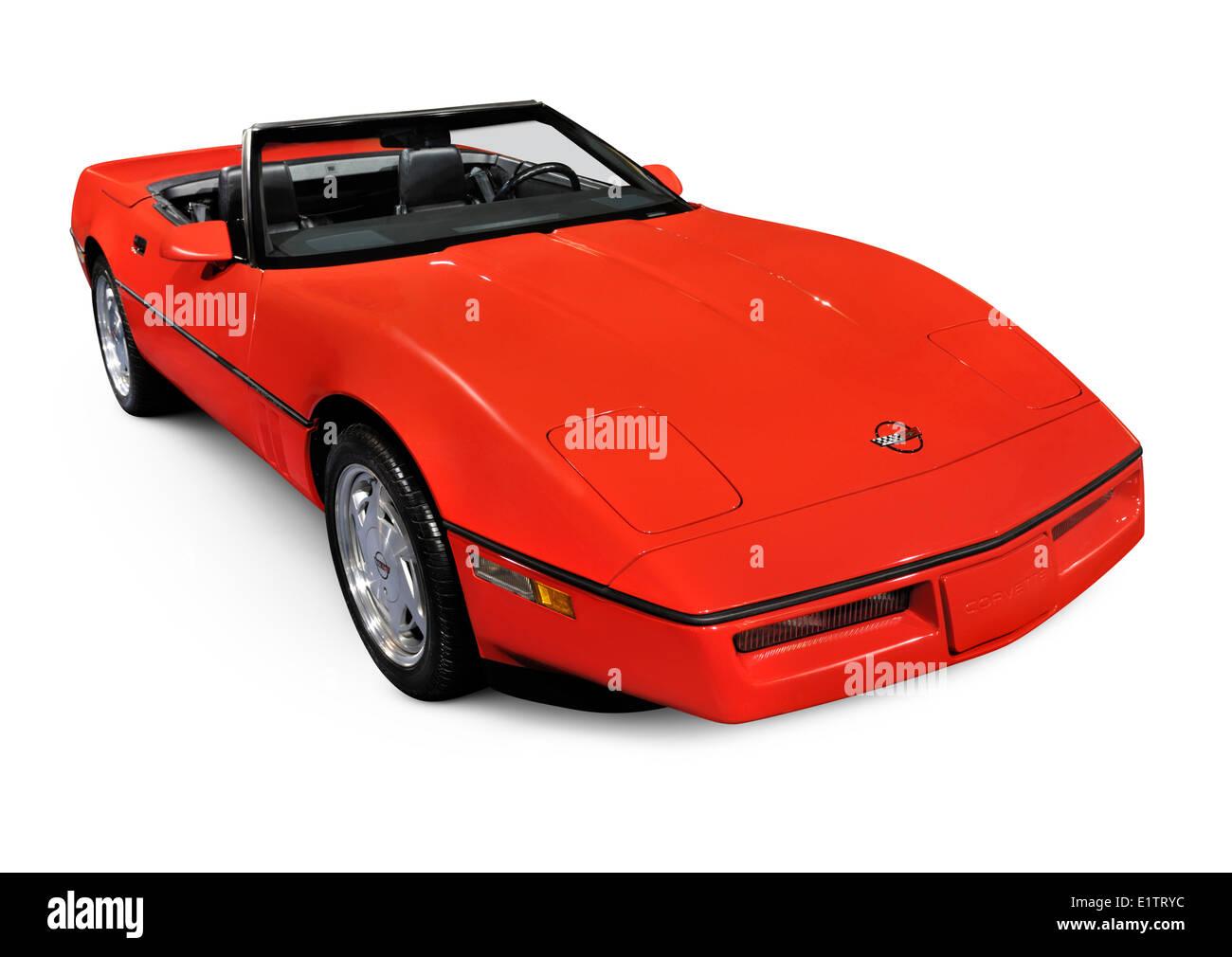 Corvette C4 Stock Photos & Corvette C4 Stock Images - Alamy