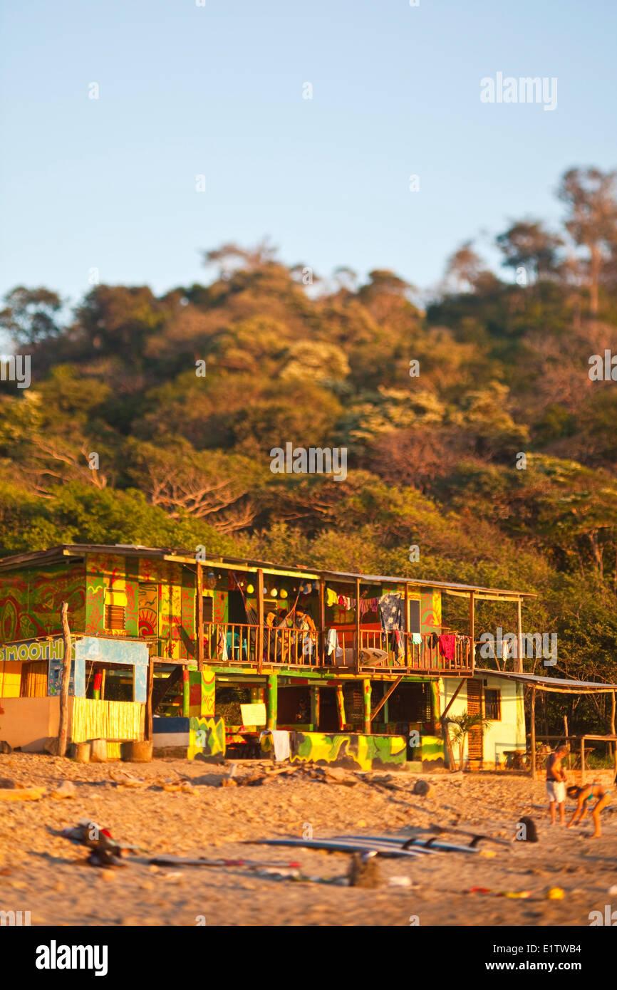 surf hostel. San Juan del Sur, Nicaragua - Stock Image