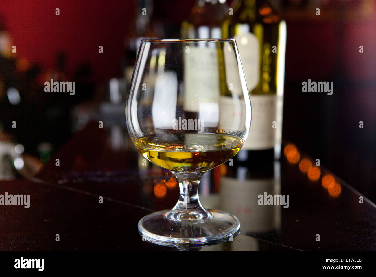 Glass of Whisky - Stock Image