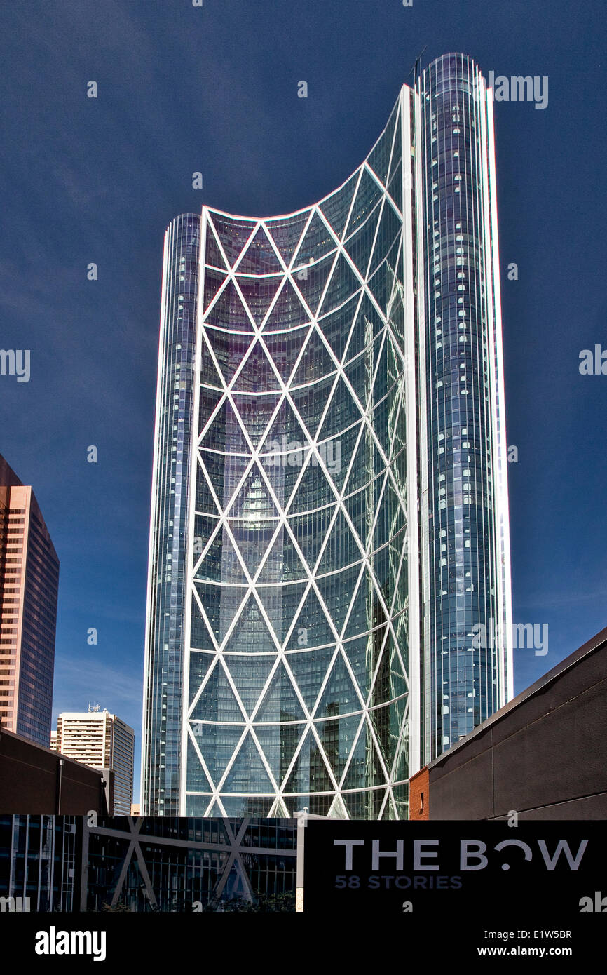 Bow Tower, Calgary, AB, Canada. - Stock Image