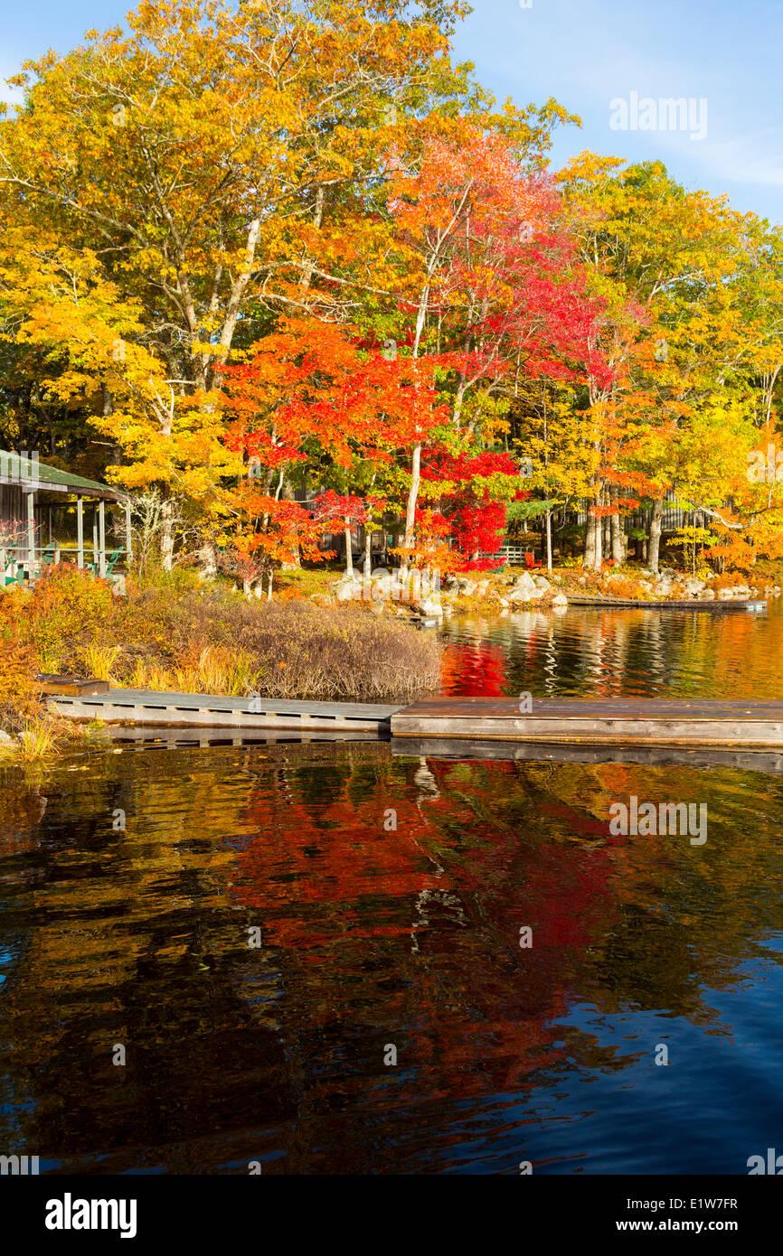 Geier Lake, South Milford, Annapolis County, Nova Scotia, Canada - Stock Image